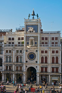 The Clock Tower in Piazza San Marco