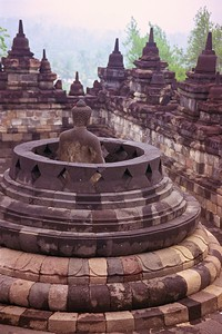 UNESCO #592 Borobudur Temple, Indonesia