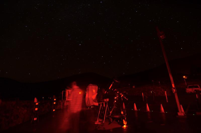 Star party at Mauna Kea
