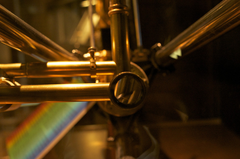 The sharp end of a spectrometer
