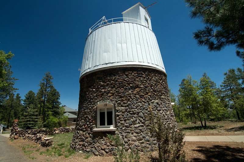 Observatory #19 which houses the telescope used to discover Pluto.