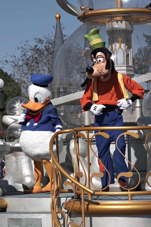 Share a Dream Come True Parade - Donald and Goofy