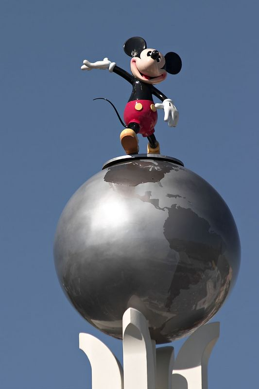 Mickey at Disney/MGM Studios