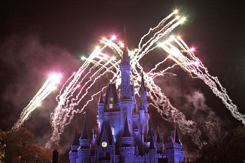"""Wishes"" Fireworks Show"