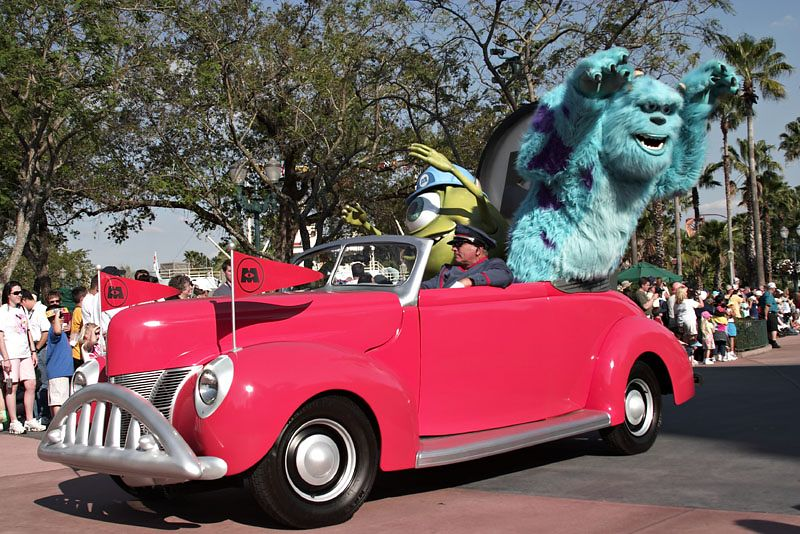 Stars and Motorcars Parade - Monsters, Inc.
