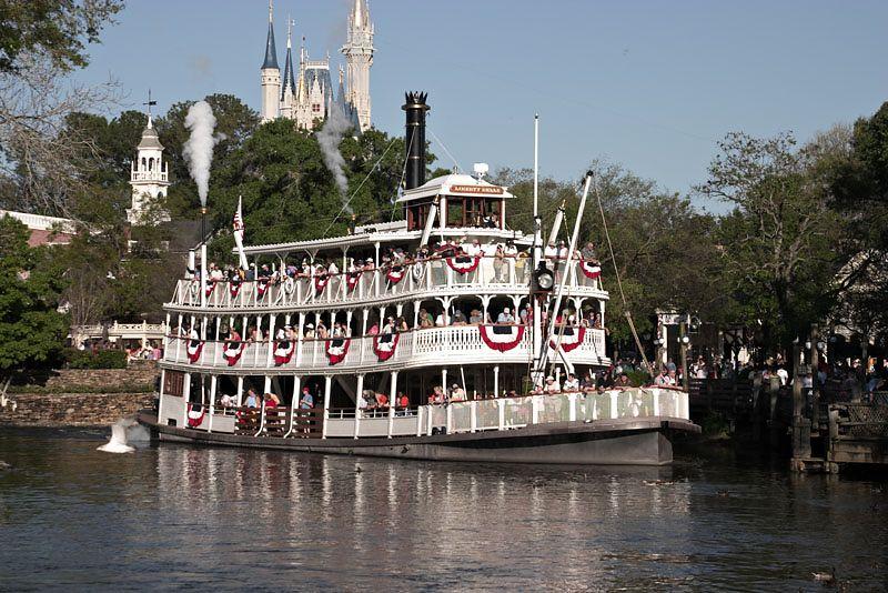 Disney Riverboat