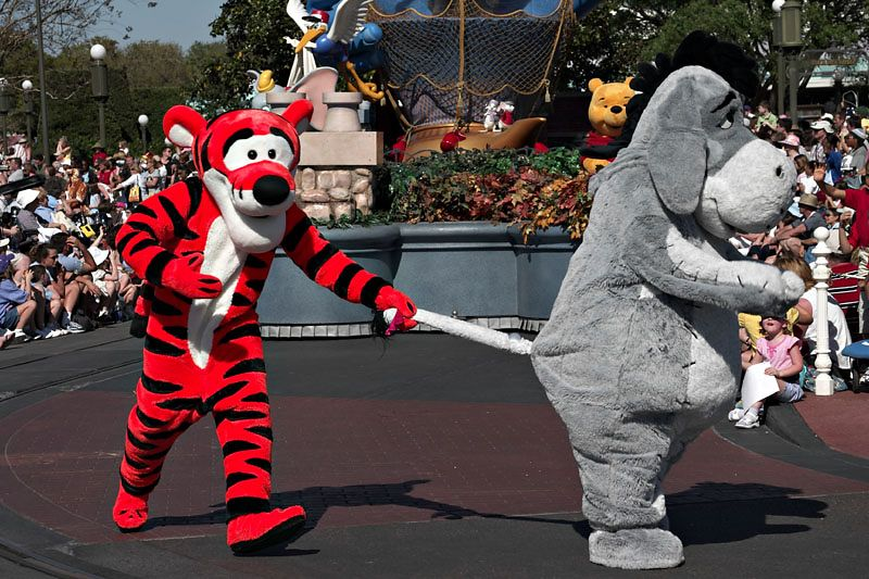 Share a Dream Come True Parade - Tigger and Eyeore