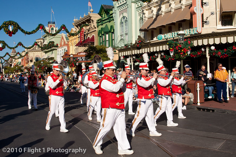 Main Street USA Holiday Parade