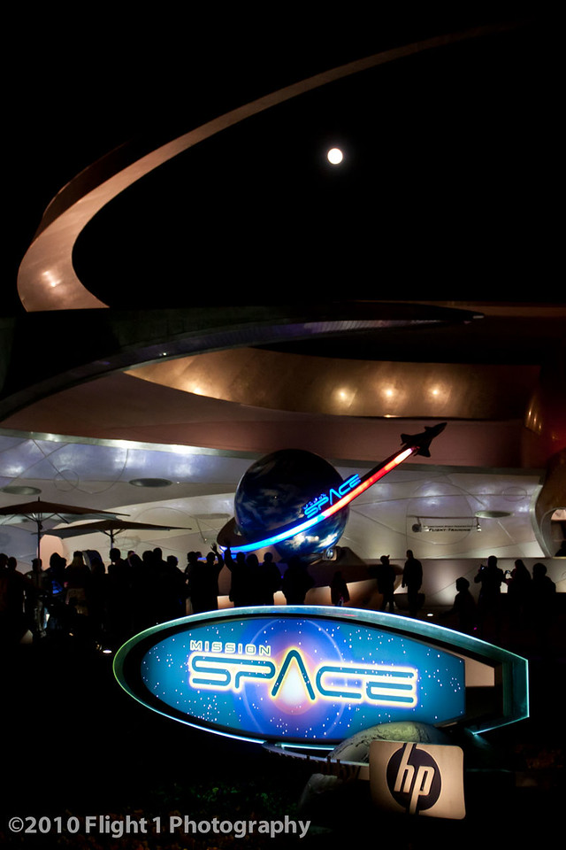 Mission Space and the Moon
