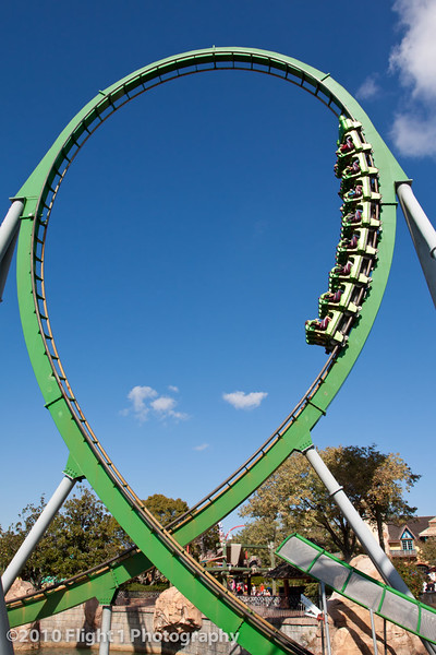 Universal Islands of Adventure - The Incredible Hulk roller coaster