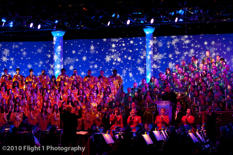 Epcot Holiday pageant
