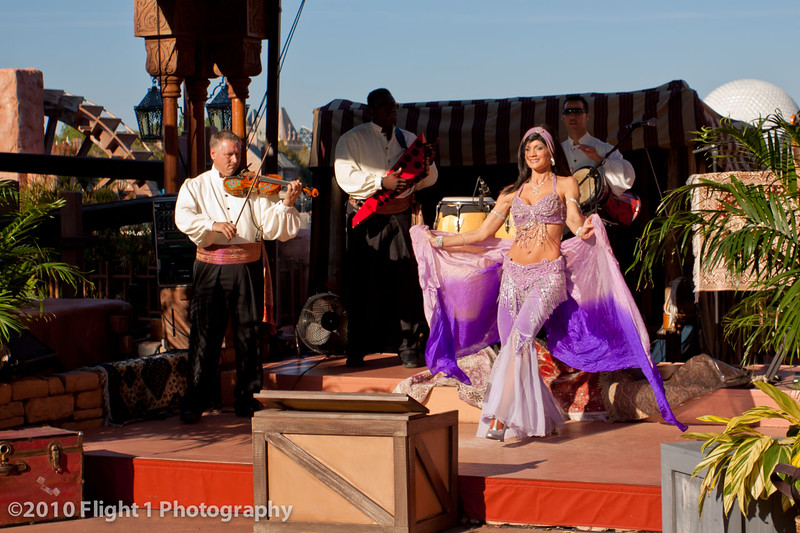 Belly Dancer at Epcot