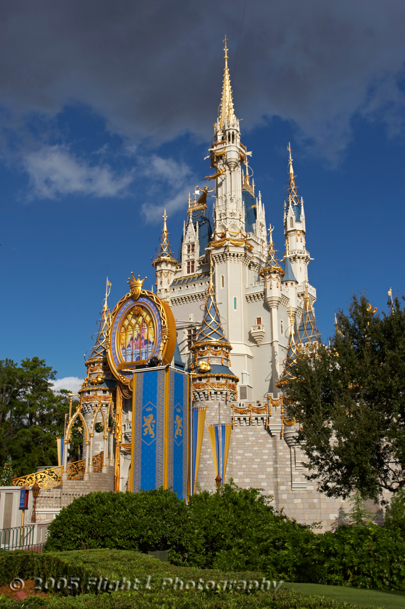 Another view of Cinderellas's castle