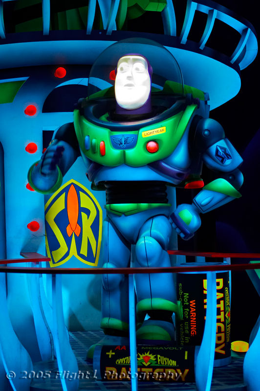 The Buzz Lightyear Space Ranger Spin