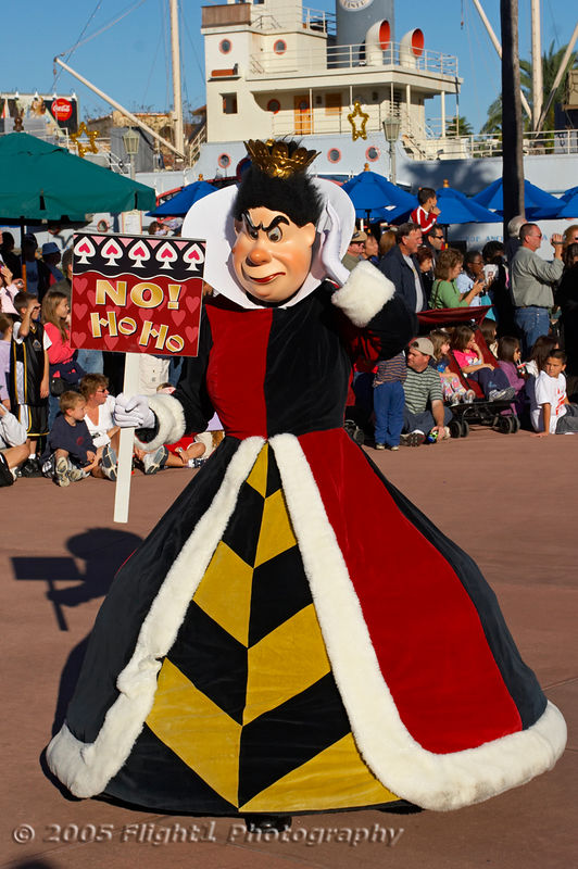 "The Queen of Hearts from ""Alice in Wonderland"""
