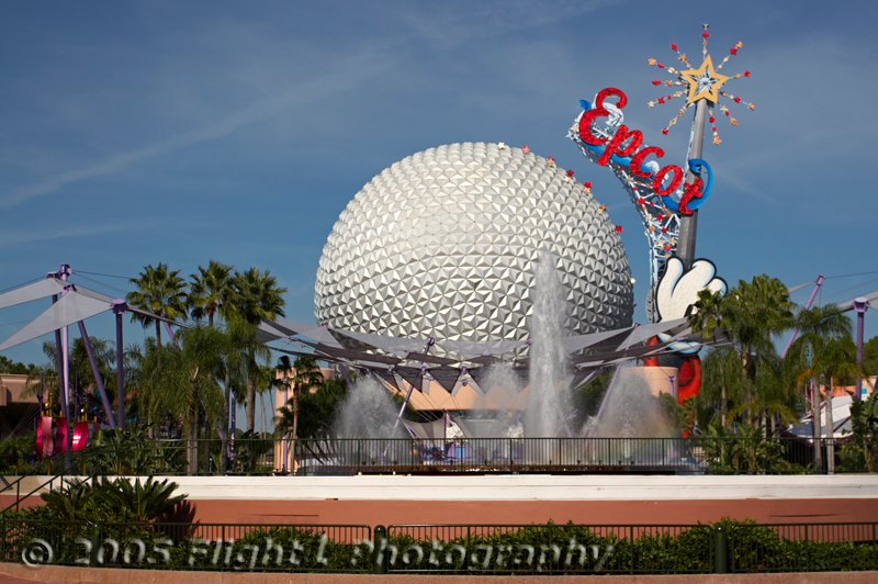 The Epcot icon - Spaceship Earth
