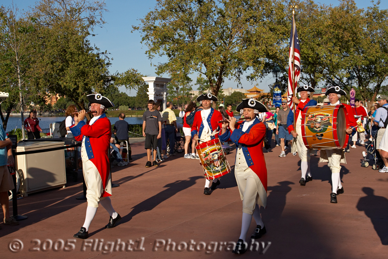 The Spirit of America Fife and Drum Corps