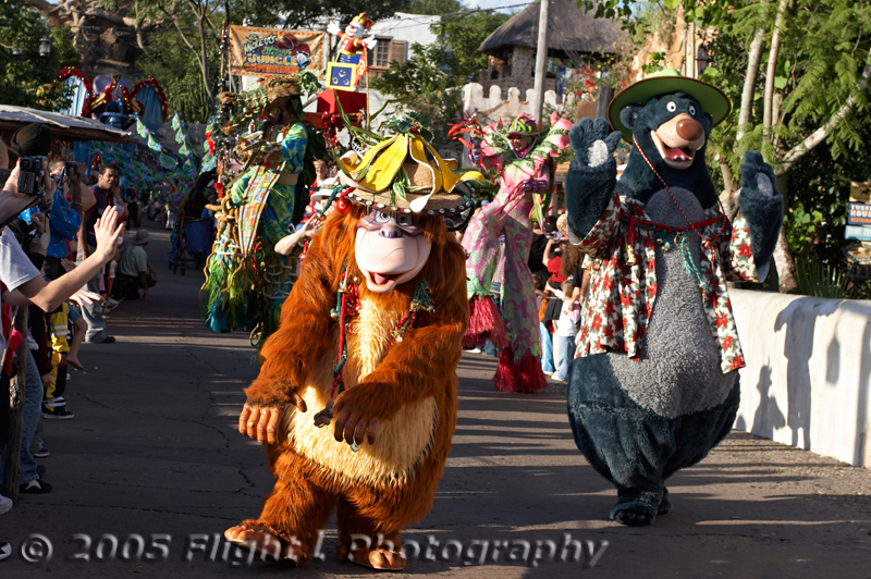 The Jingle Jungle Parade