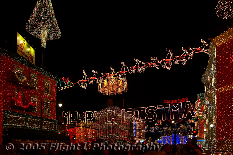 Spectacle of Lights at Streets of America at Disney/MGM
