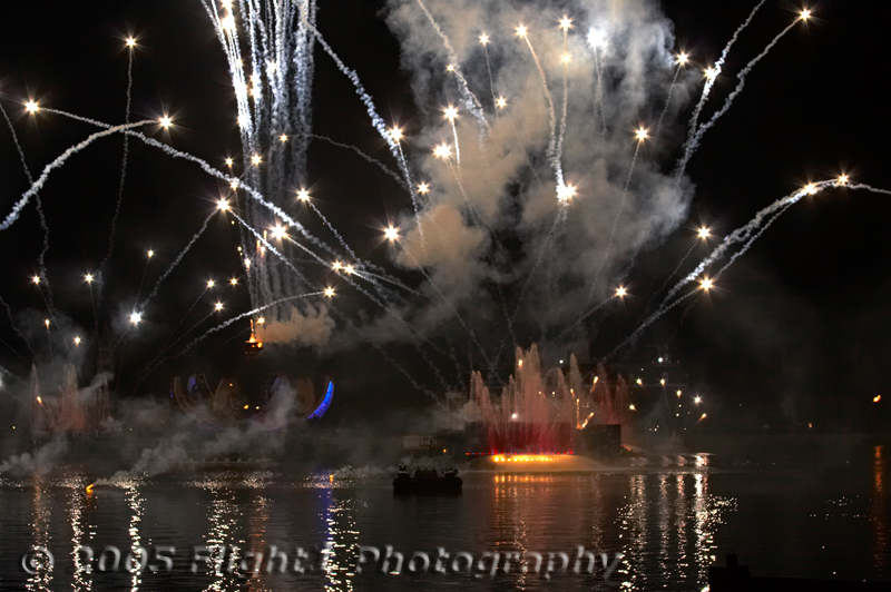 Illuminations is perhaps the most impressive fireworks display put on by Disney