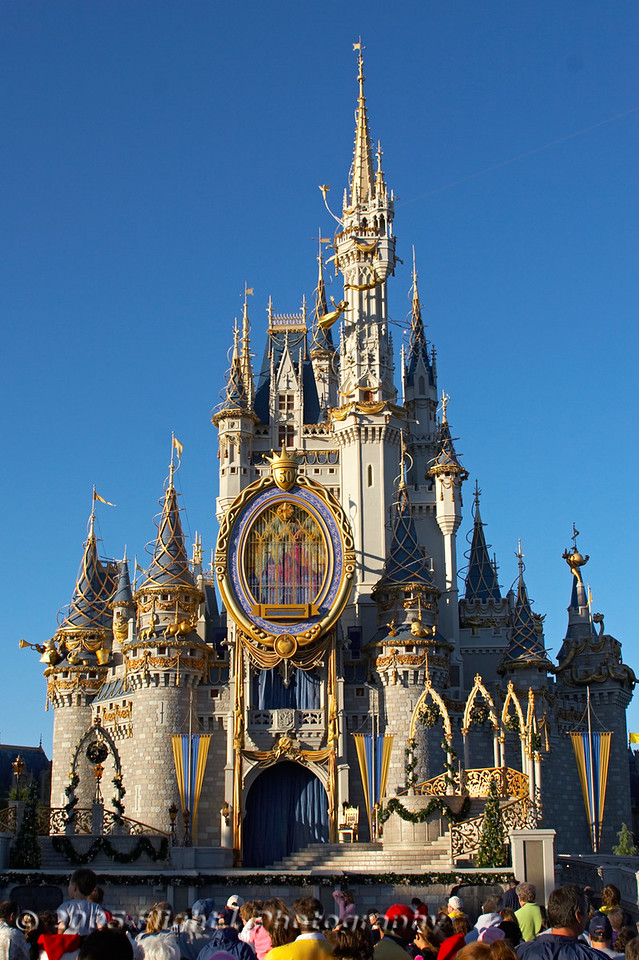 Cinderella's Castle in late afternoon