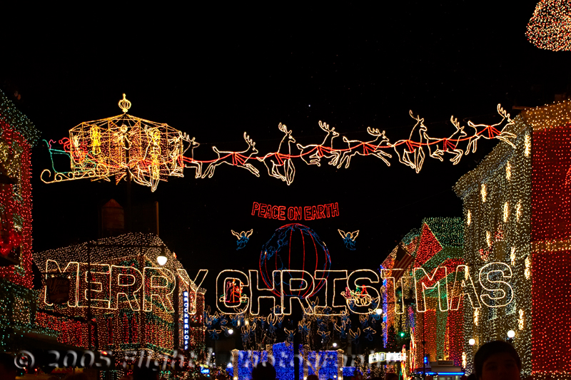 The Spectacle of Lights was created by Jennings Osborne and Arkansas Businessman and includes millions of lights