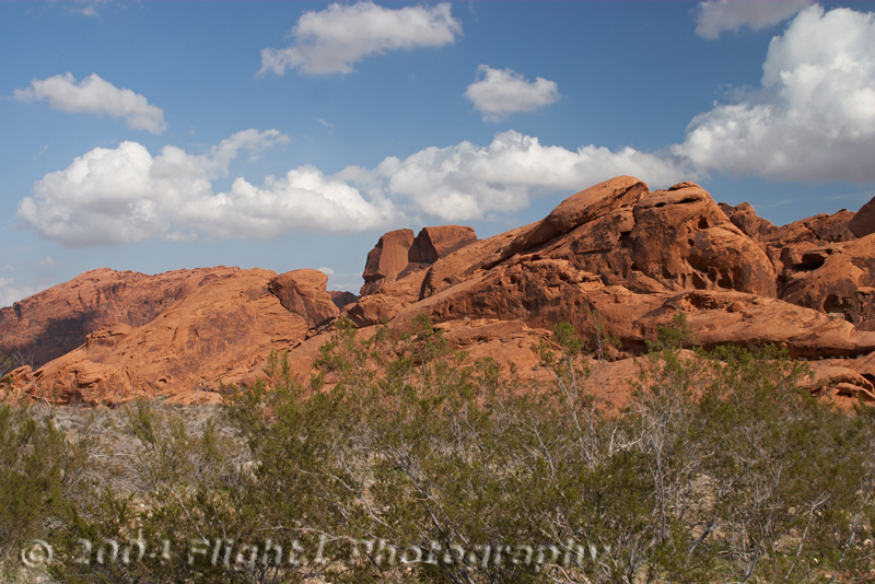 More red sandstone rocks