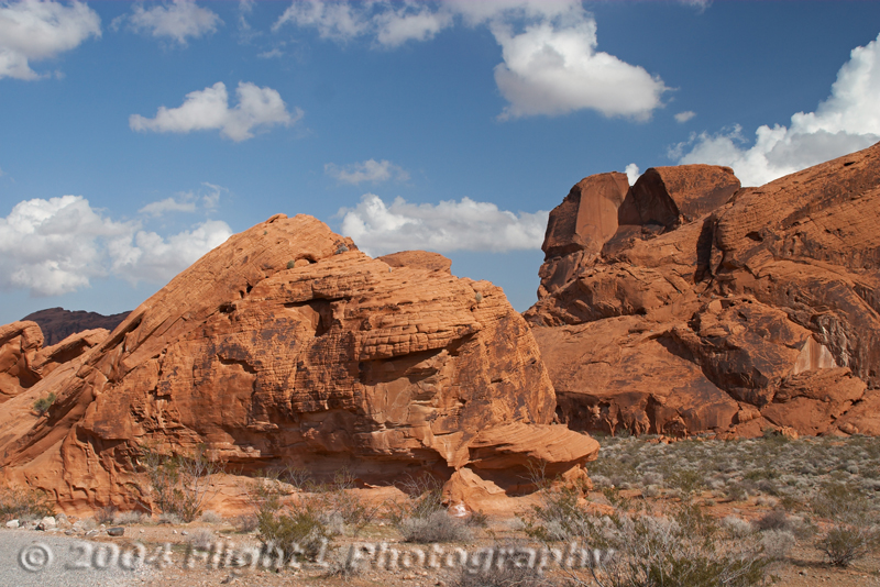 The Valley of Fire is full of dramatic scenery