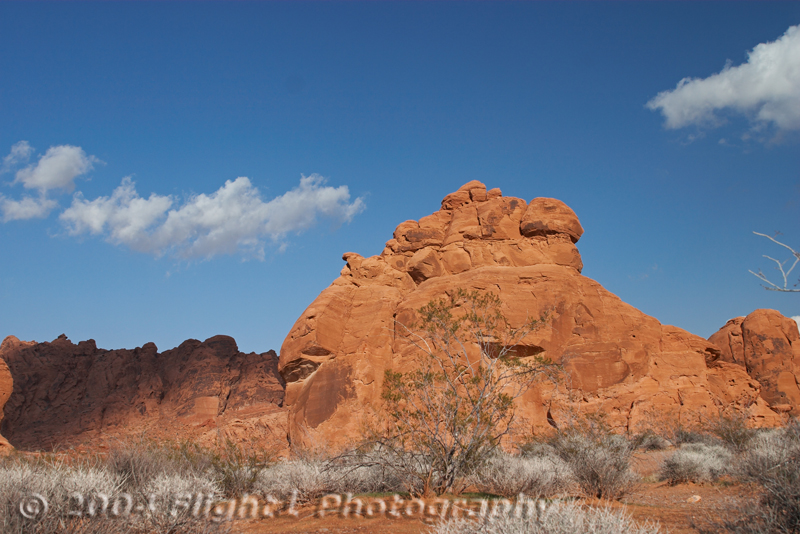 Red Rocks in the Valley of Fire