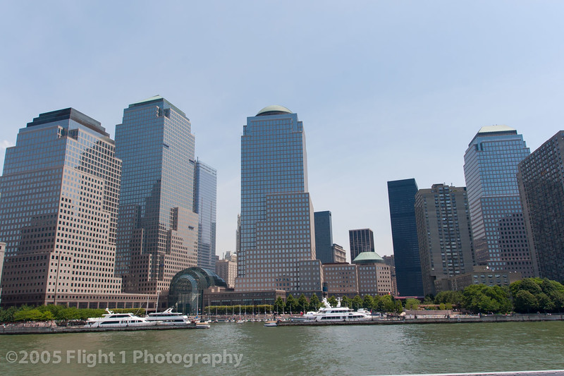 South Manhattan and the Financial District