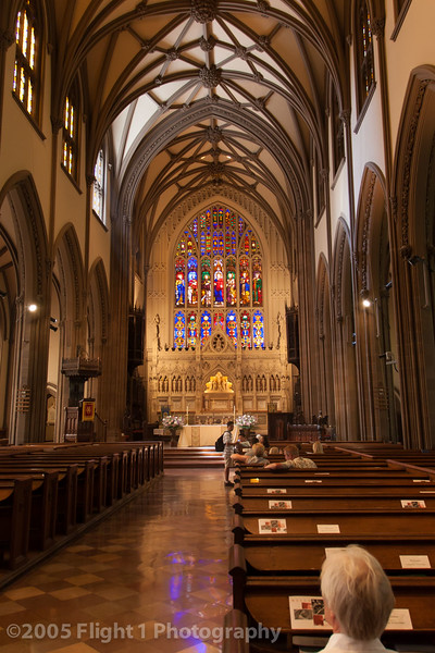 Inside Trinity Church