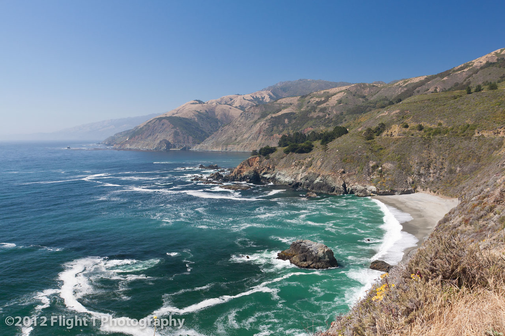 The Big Sur coastline