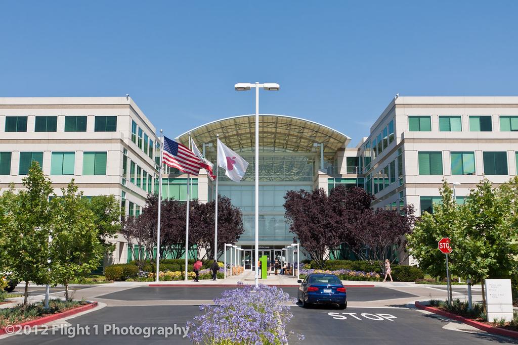 Apple Corportate Headquarters in Cupertino