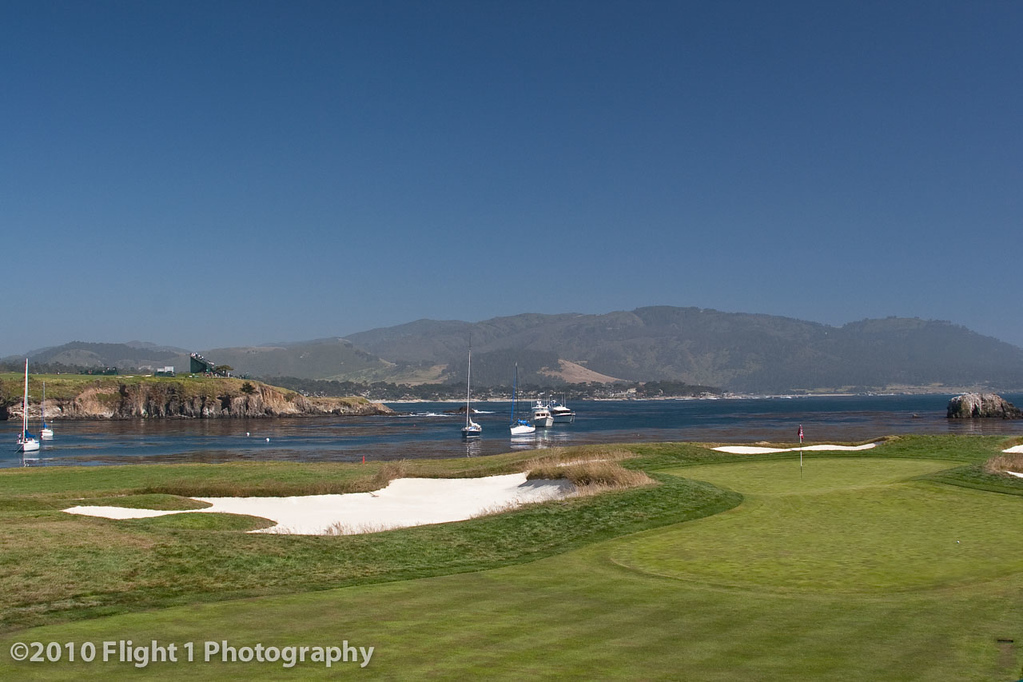 Number 17 at Pebble Beach