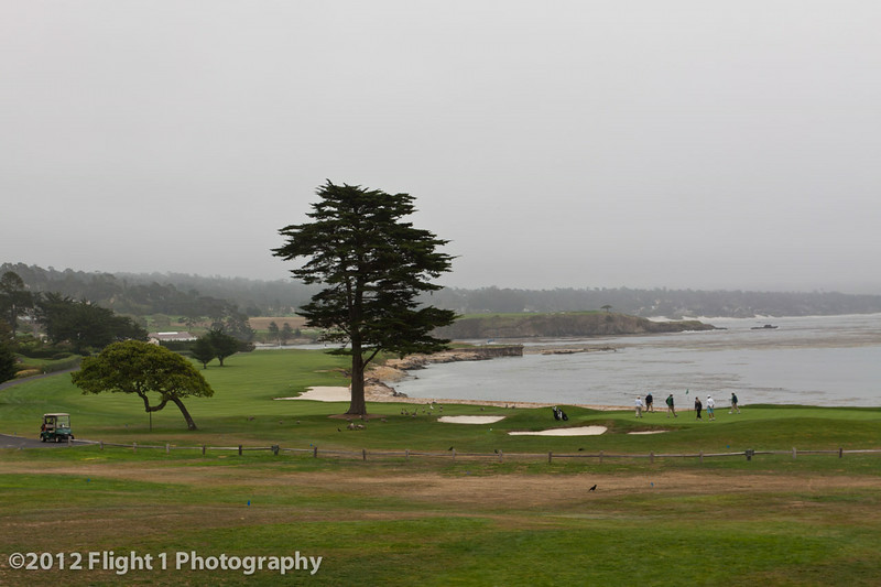 Number 18 at Pebble Beach Golf Links