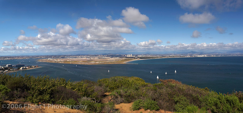 San Diego Panorama from the Cabrillo National Monument