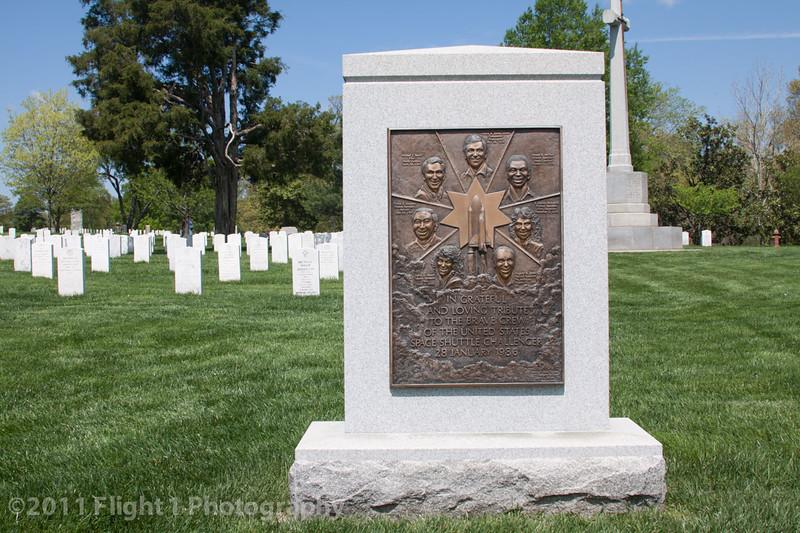 Arlington National Cemetery; Space Shuttle Challenger Memorial