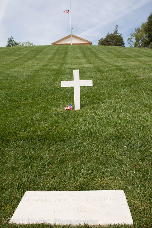 Robert F. Kennedy grave at Arlington National Cemetery