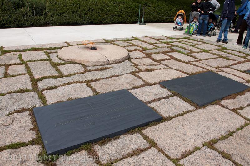 President John F. Kennedy grave site; Arlington National Cemetery