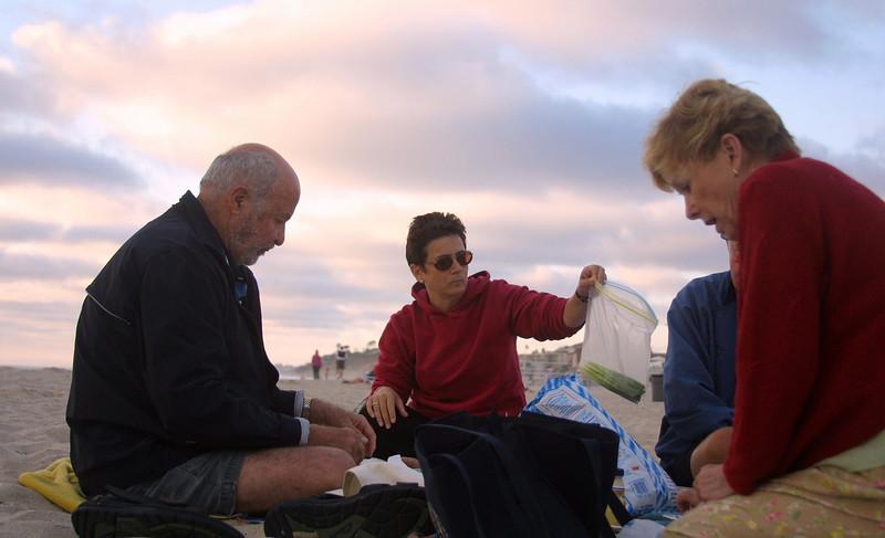 2004 Del Mar<br /> Chrys Chrys, Radha & Carrol Chrys