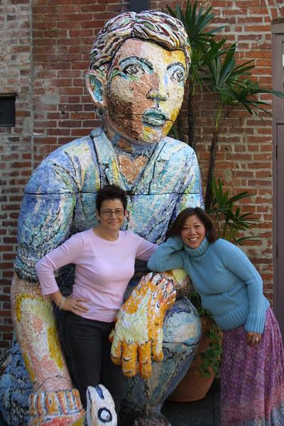 2003 Los Angeles<br /> Radha & Bettina Poon