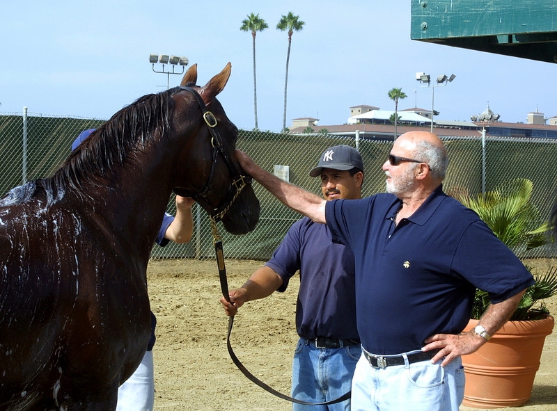 2004 Del Mar<br /> Chrys Chrys & his horse