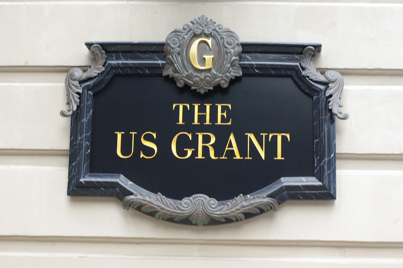 The US Grant Hotel in downtown San Diego, California celebrated its centennial in 2011. We stayed in the beautiful luxury hotel after getting in late Tuesday night.