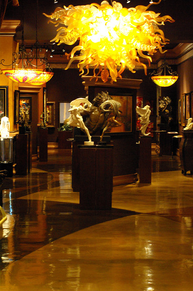 The hotel's art museum contains art collected over the hotel's 101-year history.