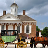 Colonial Williamsburg Horse & Carriage - Courthouse