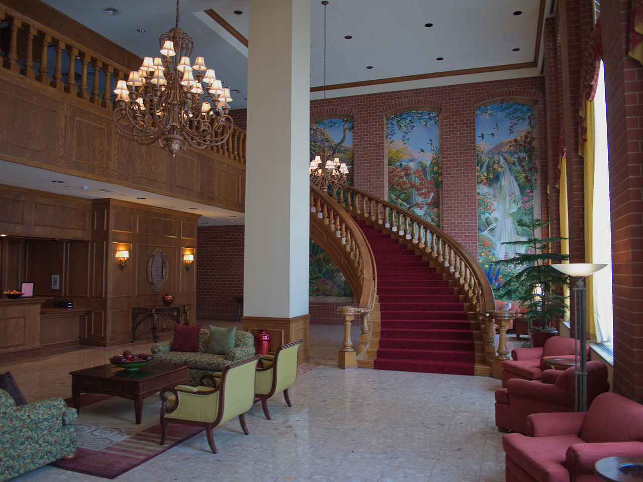 Lobby of the Cornhusker Hotel
