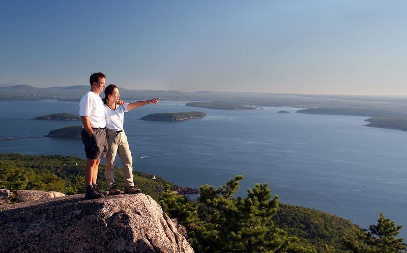 Another phenomenal day at Acadia National Park.