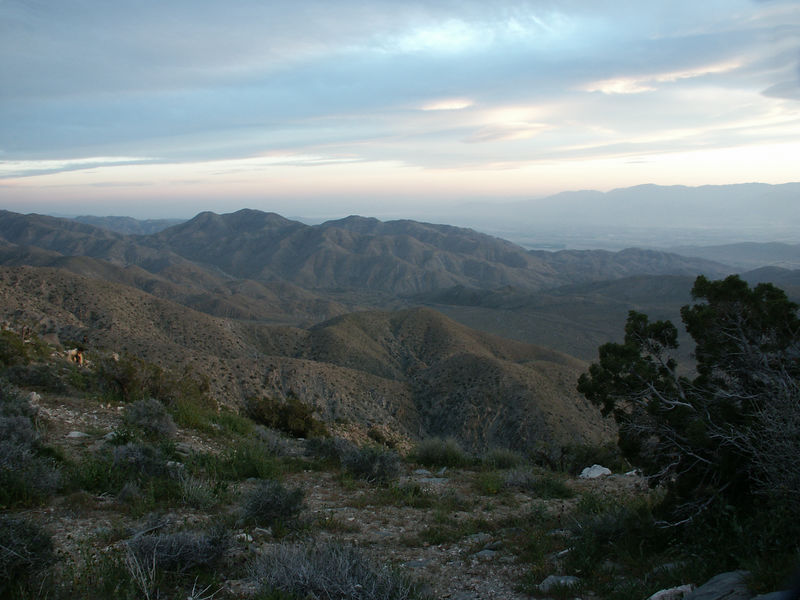 Keys View (Joshua Tree NP): Scenic point overlooks an expanse of valley, mountain and desert from its elevation of 5.185 feet.