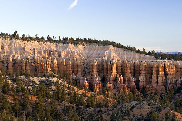 Bryce Canyon is a small national park in southwestern Utah. Named after the Mormon Pioneer Ebenezer Bryce, it became a national park in 1924.