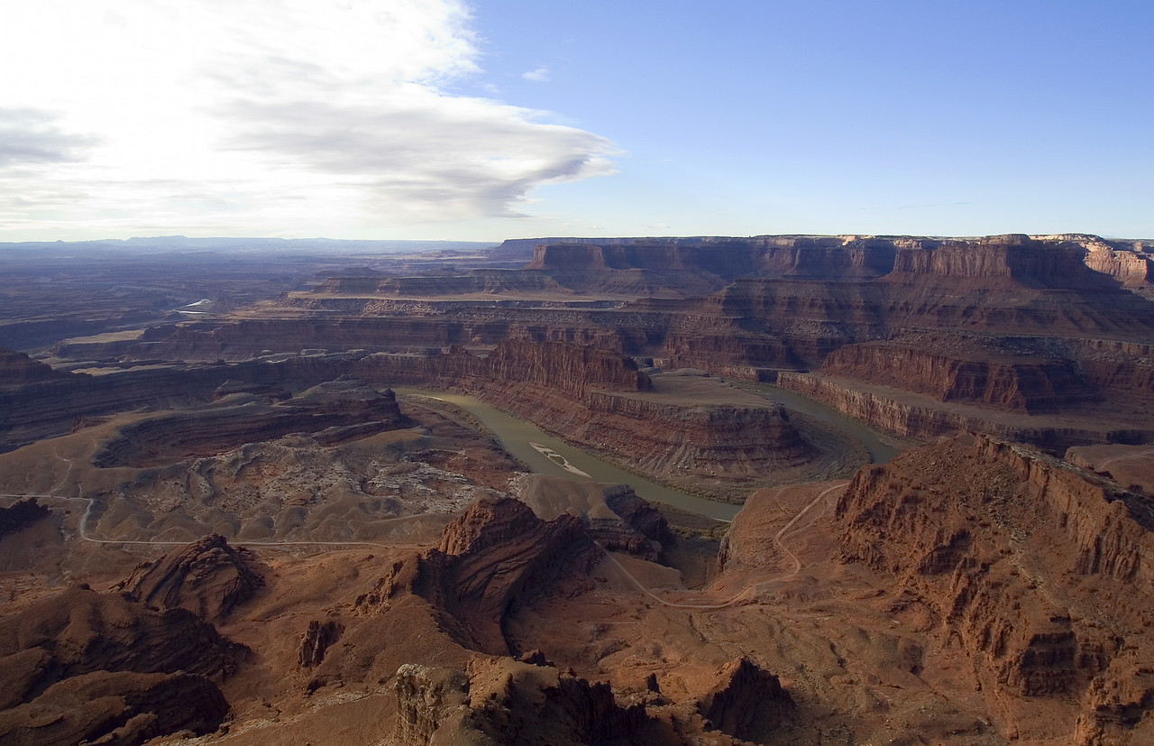 View of the Colorado River (Goose neck) from Canyonland.